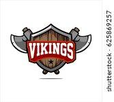 viking logo icon template... | Shutterstock .eps vector #625869257