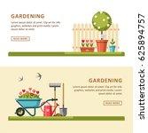 concept of gardening. garden... | Shutterstock .eps vector #625894757