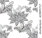 seamless white pattern. vector...   Shutterstock .eps vector #625895717