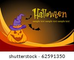 halloween illustration for... | Shutterstock .eps vector #62591350