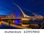 the harp bridge dublin  ireland | Shutterstock . vector #625919843