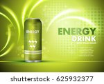 energy drink on sparkly and... | Shutterstock .eps vector #625932377