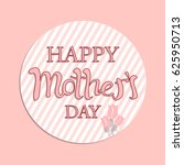 happy mother's day layout... | Shutterstock .eps vector #625950713