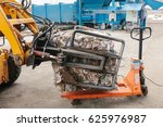 waste processing plant.... | Shutterstock . vector #625976987
