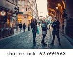 prague  czech republic    april ... | Shutterstock . vector #625994963