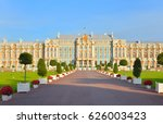 Catherine Palace In Tsarskoe...