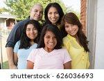 hispanic family   Shutterstock . vector #626036693