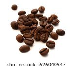 coffee beans isolated | Shutterstock . vector #626040947