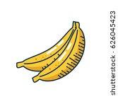 healthy fruits design | Shutterstock .eps vector #626045423