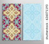 vertical seamless patterns set  ...   Shutterstock .eps vector #626071193