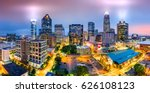 aerial view of charlotte  nc... | Shutterstock . vector #626108123