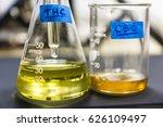 thc oil | Shutterstock . vector #626109497