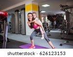 sports older sister keeps on...   Shutterstock . vector #626123153
