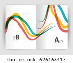business brochure flyer... | Shutterstock .eps vector #626168417