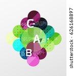 vector circle banner. vector...   Shutterstock .eps vector #626168897
