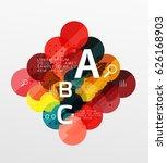 vector circle banner. vector...   Shutterstock .eps vector #626168903