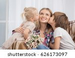 mother and children parenting... | Shutterstock . vector #626173097