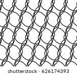 seamless geometric vector...   Shutterstock .eps vector #626174393