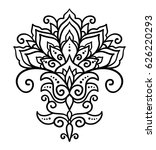 vector  abstract  oriental... | Shutterstock .eps vector #626220293
