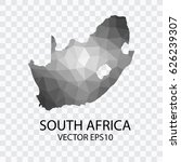 transparent   vector map of... | Shutterstock .eps vector #626239307