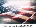 Usa Flag. American Flag....