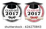 graduating class of 2017  ... | Shutterstock .eps vector #626270843