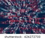abstract digital background.... | Shutterstock . vector #626272733