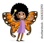 african latina fairy afro hair   Shutterstock .eps vector #626322293