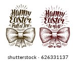 happy easter  banner. holiday...   Shutterstock .eps vector #626331137