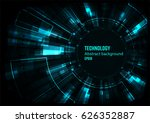 vector digital technology... | Shutterstock .eps vector #626352887