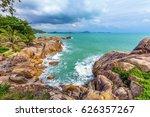 beautiful nature of koh samui...   Shutterstock . vector #626357267
