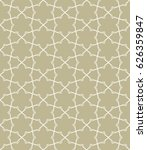 seamless geometric line pattern ... | Shutterstock .eps vector #626359847