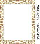 white frame background with... | Shutterstock . vector #626441057