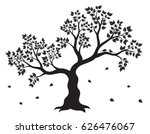 vector illustration of tree... | Shutterstock .eps vector #626476067