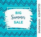 summer discount cards design....   Shutterstock .eps vector #626495753