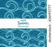 summer discount cards design....   Shutterstock .eps vector #626495777