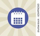 calendar icon. sign design....
