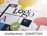 corporate identity. concept for ... | Shutterstock . vector #626497103