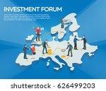 business startup work moments...   Shutterstock .eps vector #626499203