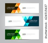 vector design banner background. | Shutterstock .eps vector #626515637