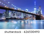 Brooklyn Bridge In New York ...
