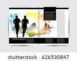 brochure layout | Shutterstock .eps vector #626530847
