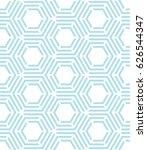abstract geometric hexagon... | Shutterstock .eps vector #626544347