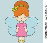 children's illustration with a... | Shutterstock .eps vector #626556047