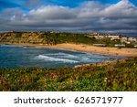 ericeira portugal. 13 april... | Shutterstock . vector #626571977