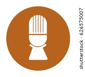 microphone icon image | Shutterstock .eps vector #626575007