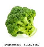fresh broccoli isolated on...   Shutterstock . vector #626575457