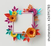 3d render  digital illustration ... | Shutterstock . vector #626591783