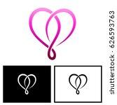 heart logo | Shutterstock .eps vector #626593763