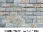 ceramic brick tile wall... | Shutterstock . vector #626614103